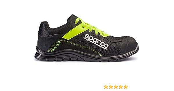 Sparco 0751743NRGF Zapatillas, Negro/Amarillo, 43: Amazon.es: Coche y moto