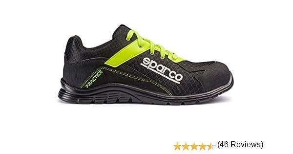 Sparco 0751741NRGF Zapatillas, Negro/Amarillo, 41: Amazon.es: Coche y moto