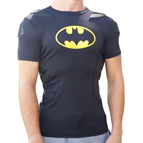 Velsete Under Armour Batman Alter EGO Padded Slim Fit Football Compression ED-82