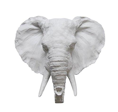 resin elephant head - 3