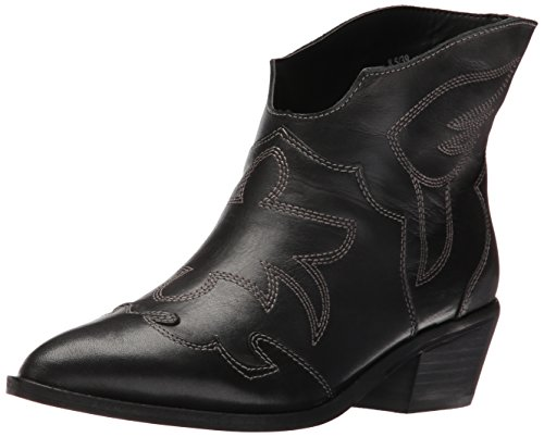 (Chinese Laundry Women's Fiona Western Boot, Black Leather,  8.5 M US)