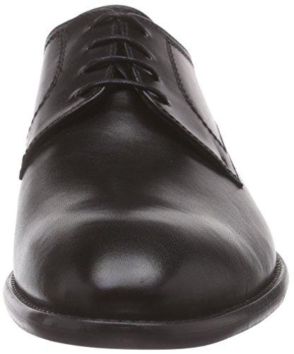 Lottusse L6555-00501-01, Derby Homme Schwarz (Lond.old Negro)