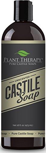Plant Therapy 100% Pure Premium Unscented Castile Soap 16 fl. oz