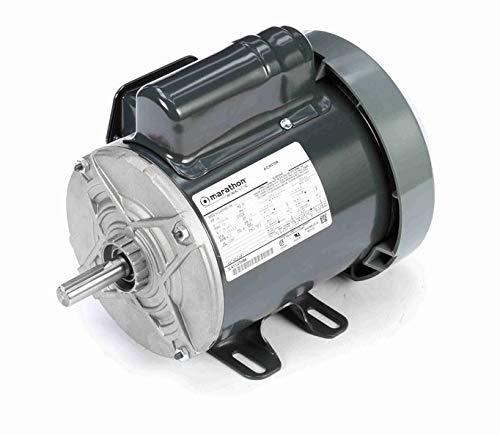 Rigid Base 1800 RPM 115//208-230 VAC 1 Phase Marathon C268 56 Frame Totally Enclosed Fan Cooled 5KC46PN0015 General Purpose Motor 3//4 hp 1 Speed Ball Bearing Capacitor Start