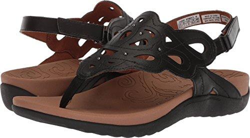 Rockport Women's Ridge Sling Sandal, Black, 7.5 M - Inch 0.375 Memory