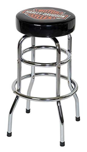 Davidson Harley Table - Harley-Davidson Classic Bar & Shield Logo Bar Stool HDL-12116A
