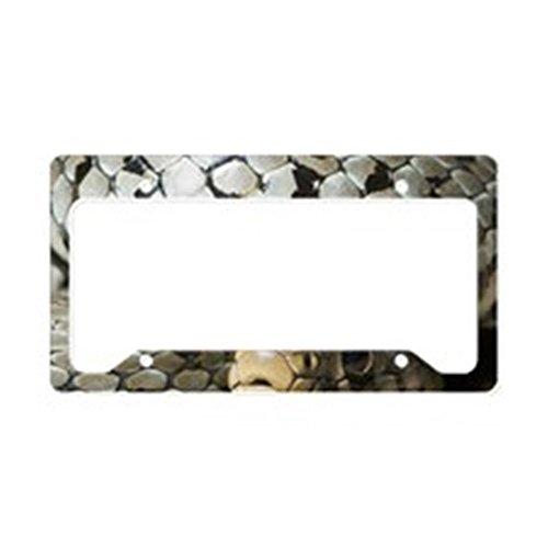 cense Plate Holder - Aluminum License Plate Frame, License Tag Holder ()