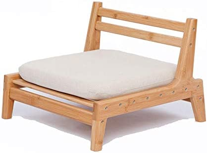 ZEN'S Bamboo Floor Seat Chair