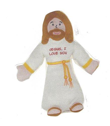 "14"" Jesus, I Love You Huggable Jesus Plush Doll Toy with Joh"