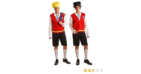 Disfraz de Gemelo Travieso 2 en 1 Hombre talla Universal M-L: Amazon.es: Juguetes y juegos