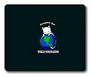 Funny World Nom Ination Easter Thanksgiving Personlized Masterpiece Limited Design Oblong Mouse Pad by Cases & Mousepads