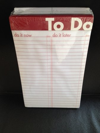 Ampad To Do List Notepad Bundle (Set of 6)