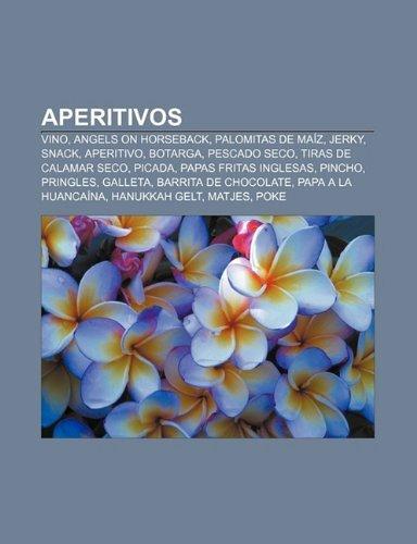 Aperitivos: Vino, Angels on Horseback, Palomitas de Maiz, Jerky, Snack, Aperitivo, Botarga, Pescado Seco, Tiras de Calamar...