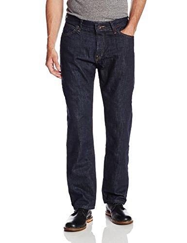 Nautica Men's Straight Dark Jean, Marine Rinse, 36Wx32