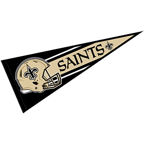 WinCraft New Orleans Saints Official NFL 30 inch Large Pennant