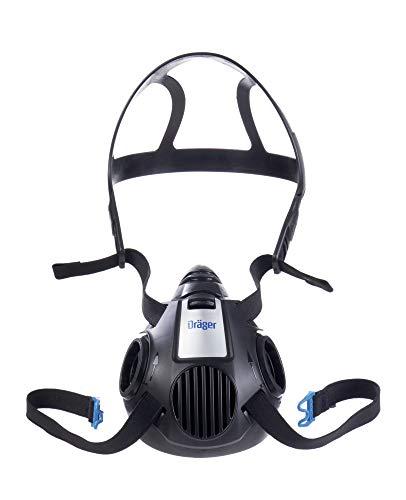 Dräger X-plore 3500 Half-Face Respirator Mask, Size M, NIOSH Approved