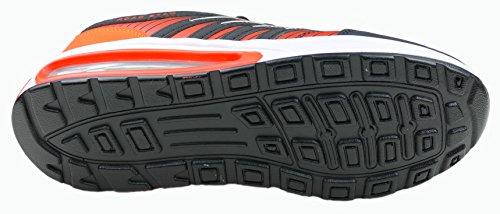 gibra - Zapatillas de Material Sintético para mujer negro / naranja