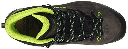 Lowa Uomo Gtx Mid Trekking Trekking Hiking Boots Grigio (antracite / Lime 9702)