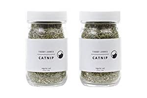 Tabby James Premium Organic Catnip Regular Cut, 2 Pack