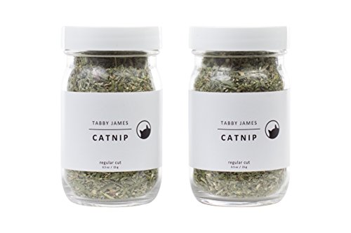 Used, Tabby James Premium Organic Catnip Regular Cut, 2 Pack for sale  Delivered anywhere in USA