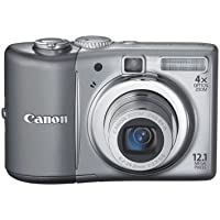 Canon PowerShot A1100IS 12.1 MP Digital Camera with 4x Optical Image Stabilized Zoom and 2.5-inch LCD (Silver) (OLD MODEL) Review Review Image