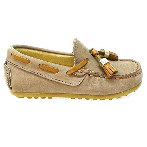 CLARYS Zapatos Niño Mocasines Naúticos N20158 Taupe 23: Amazon.es: Zapatos y complementos