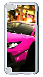 Jamie Yeager Lamborghini Aventador Lp700 Cute Case for iPod 5, Premium Anti-Scratch Clear Slim Back Panel with Shock Absorbent Bumper Protection [Heavy Drop Protection] Case For Apple iPod Touch 5Gen Generation
