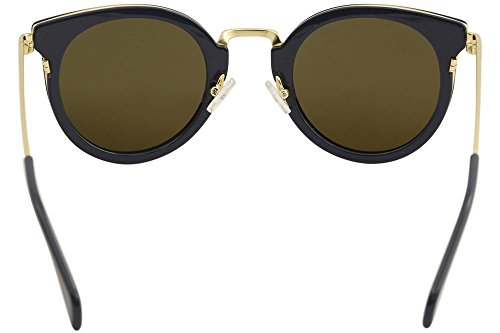 0789b2cecd9 Celine 41373 S HDE Petrol   Gold 41373 S Round Sunglasses Lens Category 3  Size at Amazon Men s Clothing store