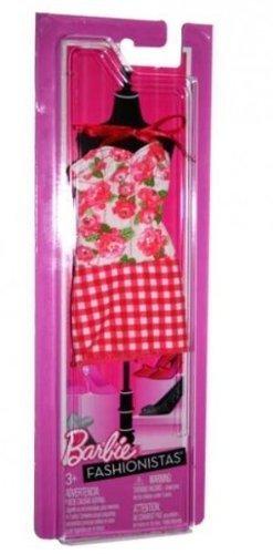 Barbie Fashionistas Clothing Fashion Plaid Skirt / Floral Tank by Mattel ()
