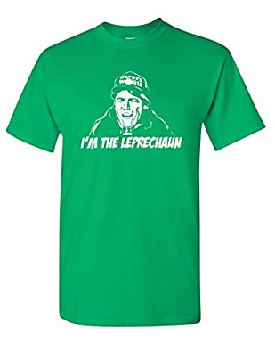 Strange Cargo Wayne's Parody World Leprechaun Funny St Patrick's Day Irish T-shirt