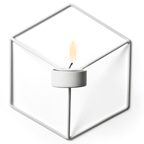 MENU-POV-Wall-Candleholder-White