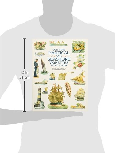 Old-Time Nautical and Seashore Vignettes in Full Color (Dover Pictorial Archive)