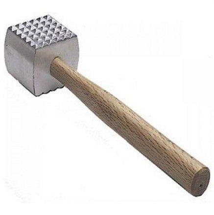 BEST PRICE NEW, Extra Large Heavy-Duty Meat Tenderizer Mallet, Meat Tenderizer Hammer