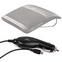 DURAGADGET In-Car 12V /24V Charger Power Supply For Jabra Freeway& Jabra Drive Wireless Bluetooth Speakerphone Car Kits
