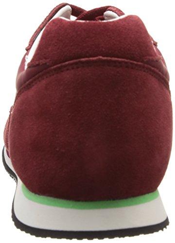 adulti Vintage miste Gallo rubino vino Nylon Red Sneakers per Milos miste Sport RTqUw