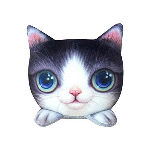 Silk Road Bamboo (Nesee Car Deodorant Funny Cat Doll Purify Air Bamboo Charcoal Bag Adsorb Odor Deodorant Decor (A))