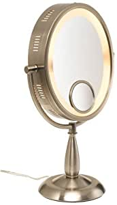Amazon Com Seeall Large 10 Quot Oval Brushed Nickel Finish