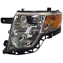 OE Replacement Ford Edge Driver Side Headlight Assembly Composite (Partslink Number FO2502228)