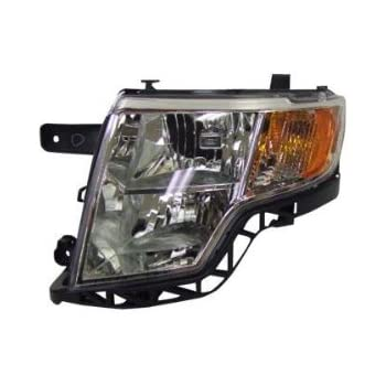 Oe Replacement Ford Edge Driver Side Headlight Assembly Composite Partslink Number Fo