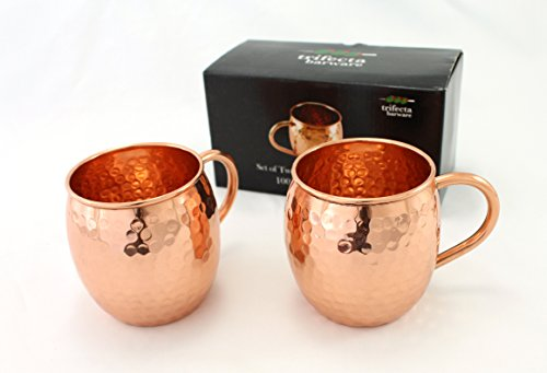 set-of-two-16-oz-copper-mugs-100-pure-copper-handcrafted-into-the-perfect-hammered-barrel-style-mosc
