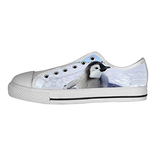 Custom Pinguino Womens Canvas shoes I lacci delle scarpe scarpe scarpe da ginnastica Alto tetto Recomendar Barato En Línea Paga Barato Con Paypal Paquete De Cuenta Regresiva Venta Barata 5aWzQINn