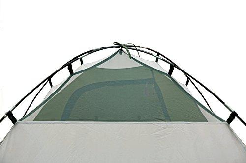 419RtsDYlFL High Peak Kuppelzelt Nevada 4, Campingzelt mit Vorbau, Iglu-Zelt für 4 Personen, doppelwandig, wasserdicht…