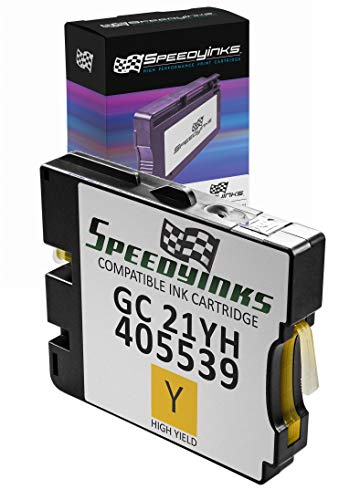 Speedy Inks Compatible Ink Cartridge Replacement for Ricoh 405539 High-Yield (Yellow)