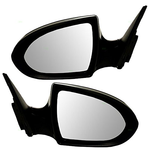 (Driver and Passenger Power Side View Mirrors with Signal Smooth Replacement for Kia SUV 876103W550 876203W550)