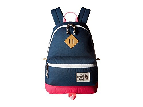 The North Face Mini Berkeley Backpack Blue Wing Teal/Petticoat Pink Backpack Bags