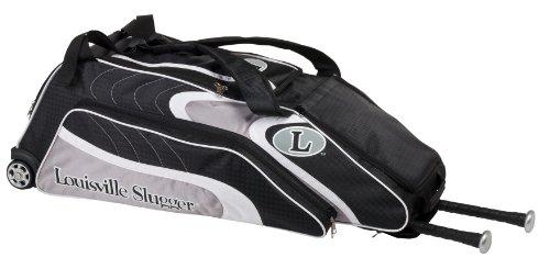 Louisville Slugger Deluxe Wheeled Locker Bag (Black)