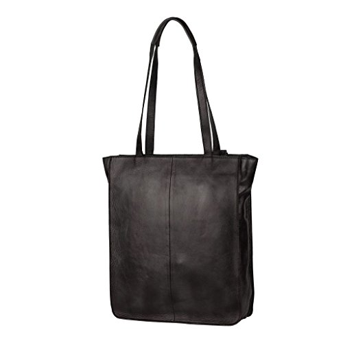 Burkely Nova Shopper Schultertaschen Black