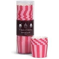 Paper Eskimo Baking Cup Pink Stripes