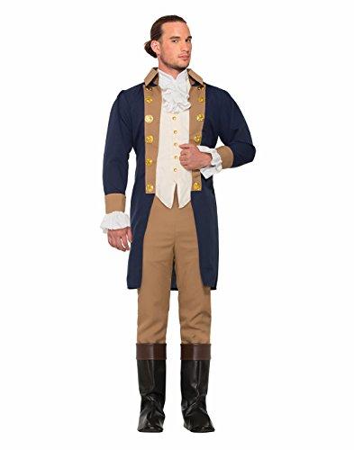 Forum Novelties Men's Colonial Officer Costume, As As Shown, Standard -