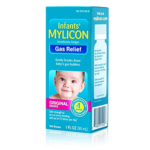 Mylicon Infants' Gas Relief Original Drops - 1 oz, Pack of 3
